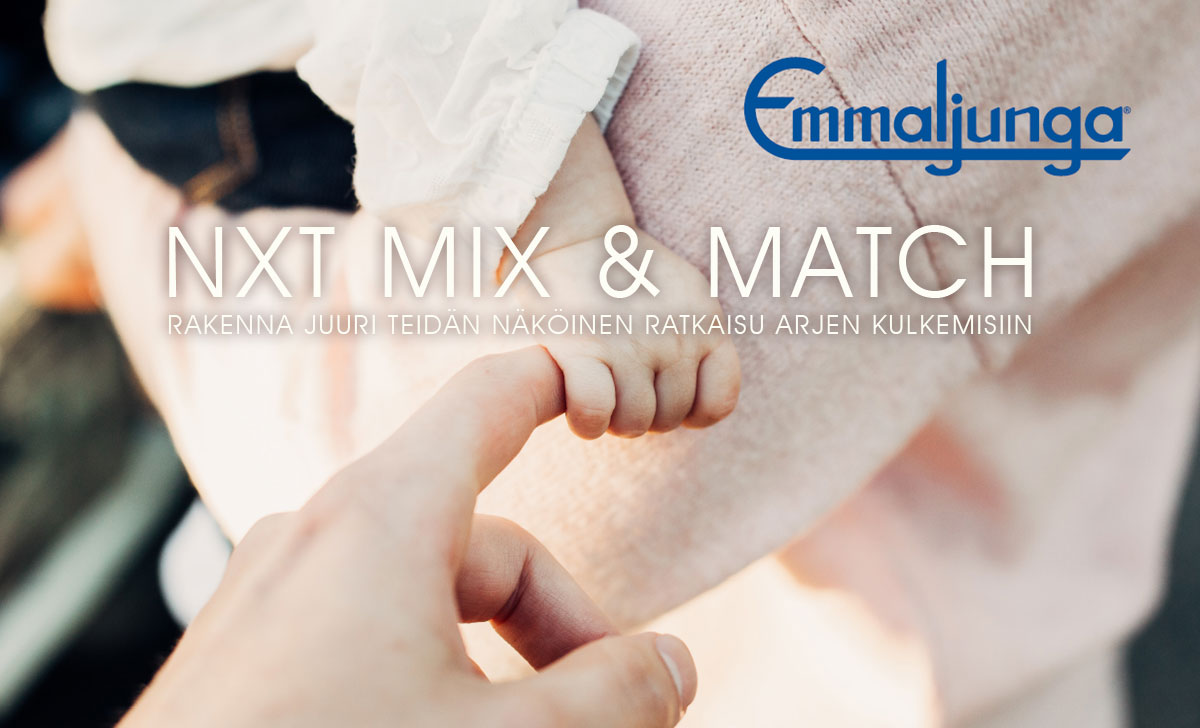 Emmaljunga NXT Mix & Match