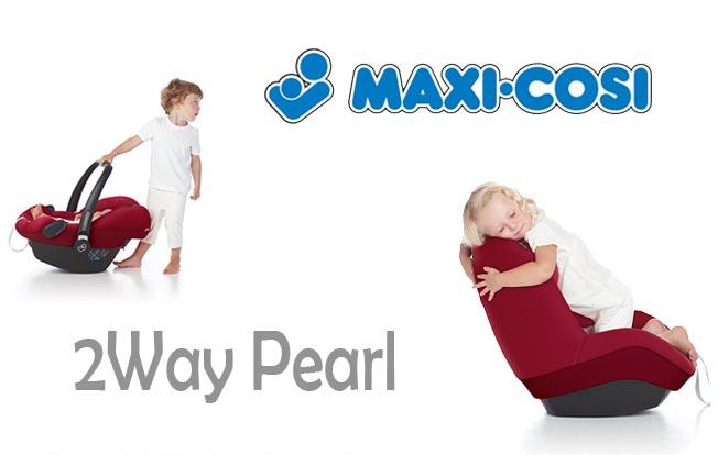 Uuden i-Size standardin mukaiset istuimet ovat saapuneet Lastentarvikkeeseen, tule tutustumaan esim. Maxi-Cosin 2WayPearliin!