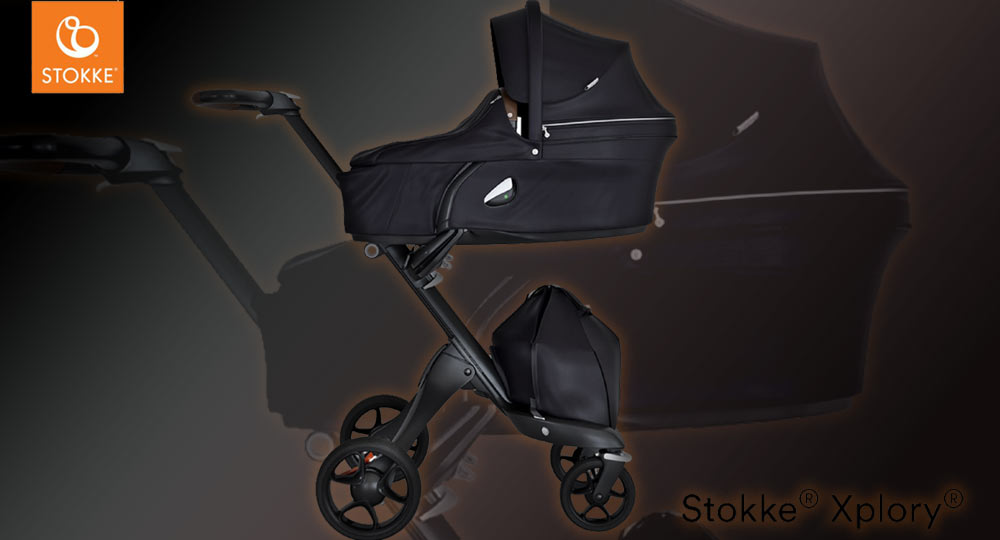 Stokke Xlpory on veikeä ja moderni lastenratas, jonka vaunukopan ja istuimen korkeutta voi säätää.