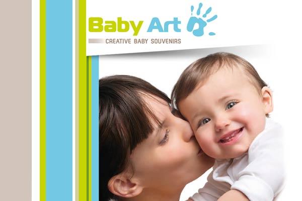 Baby Art 2014 tuote-esite englanniksi.