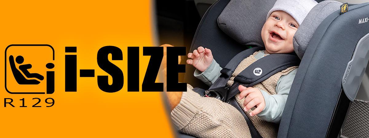 Uusi eurooppalainen turvaistinstandardi i-Size