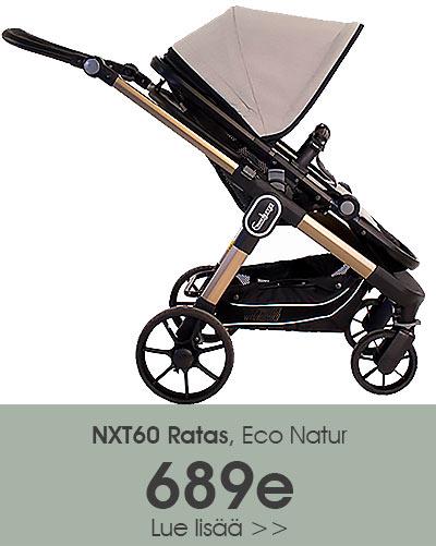 Emmaljunga ECO Natur NXT60 ratas nyt Lastentarvikkeesta 689e hintaan