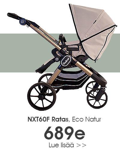 Emmaljunga ECO Natur NXT60F ratas nyt Lastentarvikkeesta 689e hintaan