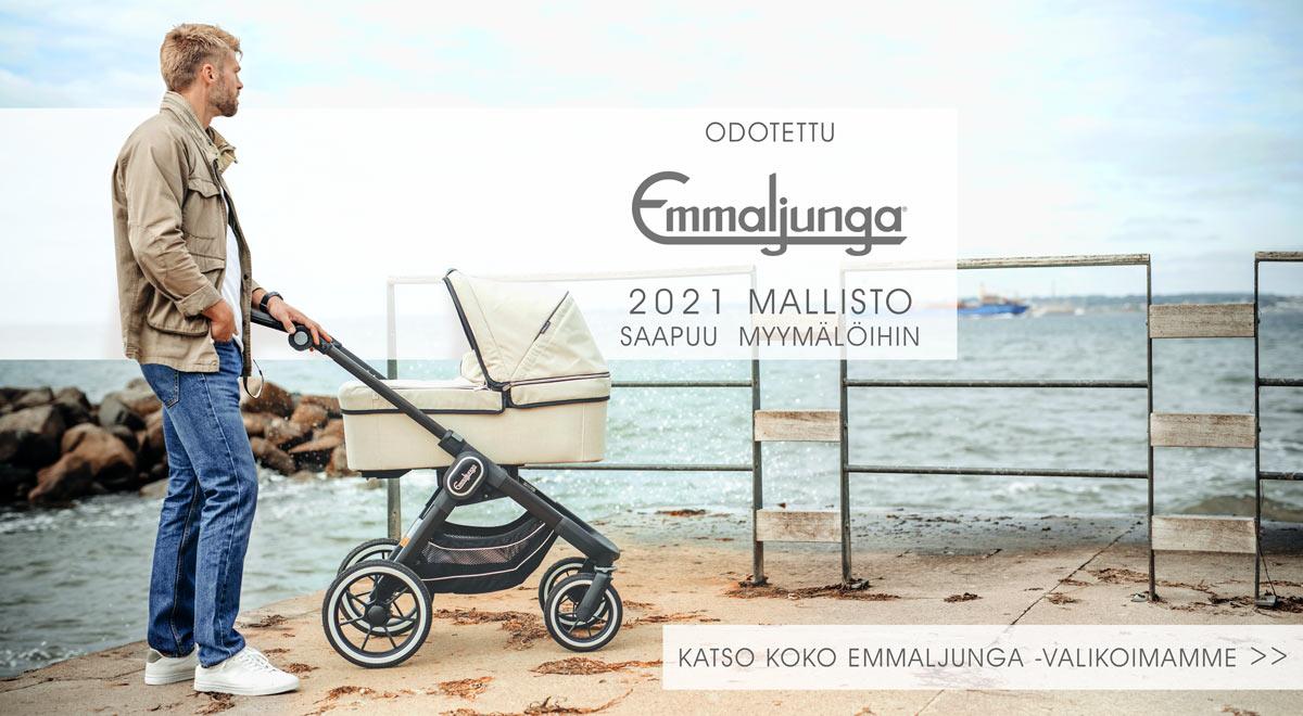 Lastentarvikkeesta löydät Suomen monipuolisimman Emmaljunga-valikoiman!