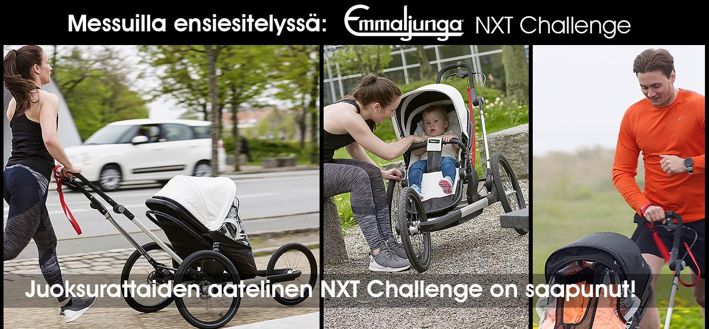 Emmaljunga Challenge juoksuratas ensiesittelyssä!