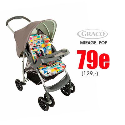 Graco Mirage POP nyt messuhintaan Lastentarvikkeesta
