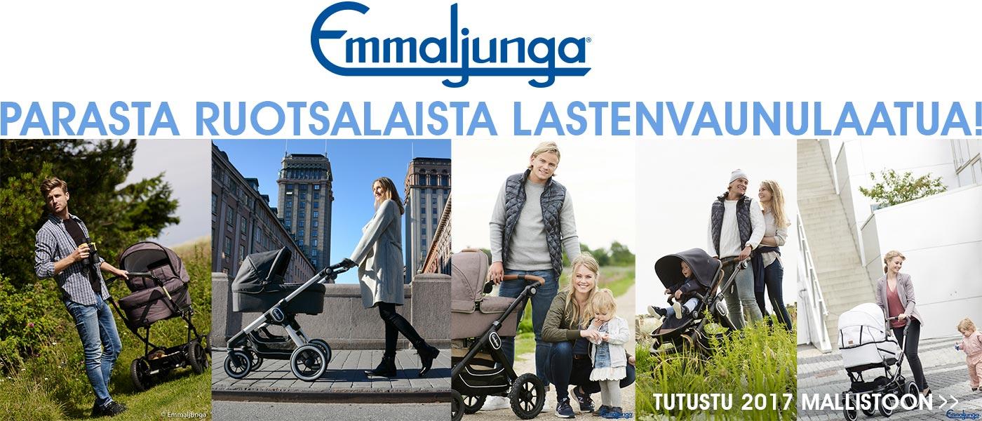 Parasta Ruotsalaista lastenvaunulaatua Lastentarvikkeesta - Emmaljunga