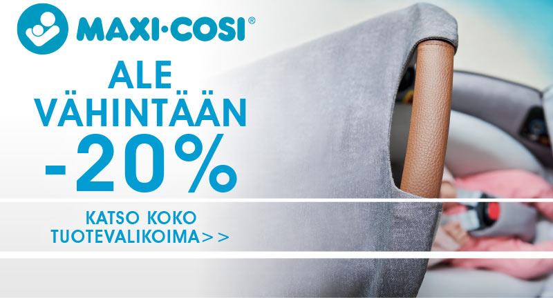 Lastentarvikkeesta monipuolinen ja laadukas Maxi-Cosi valikoima