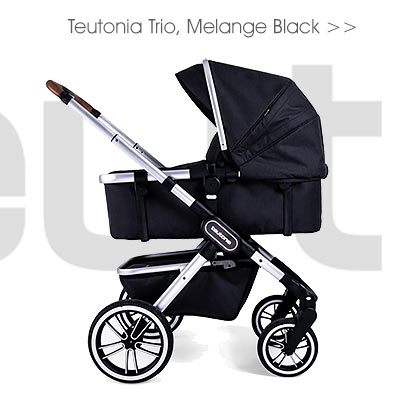 Teutonia Trio, Melange Black