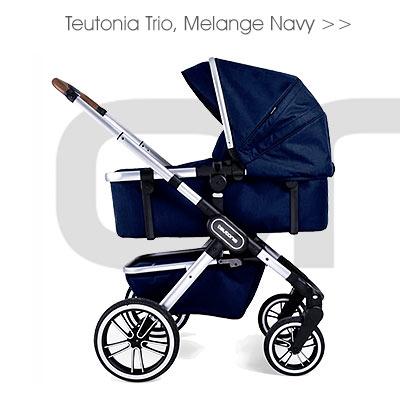 Teutonia Trio, Melange Navy