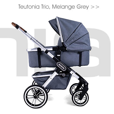 Teutonia Trio, Melange Grey