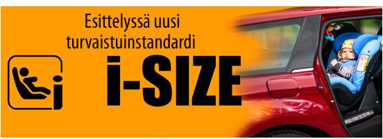 i-Size standardi esittely
