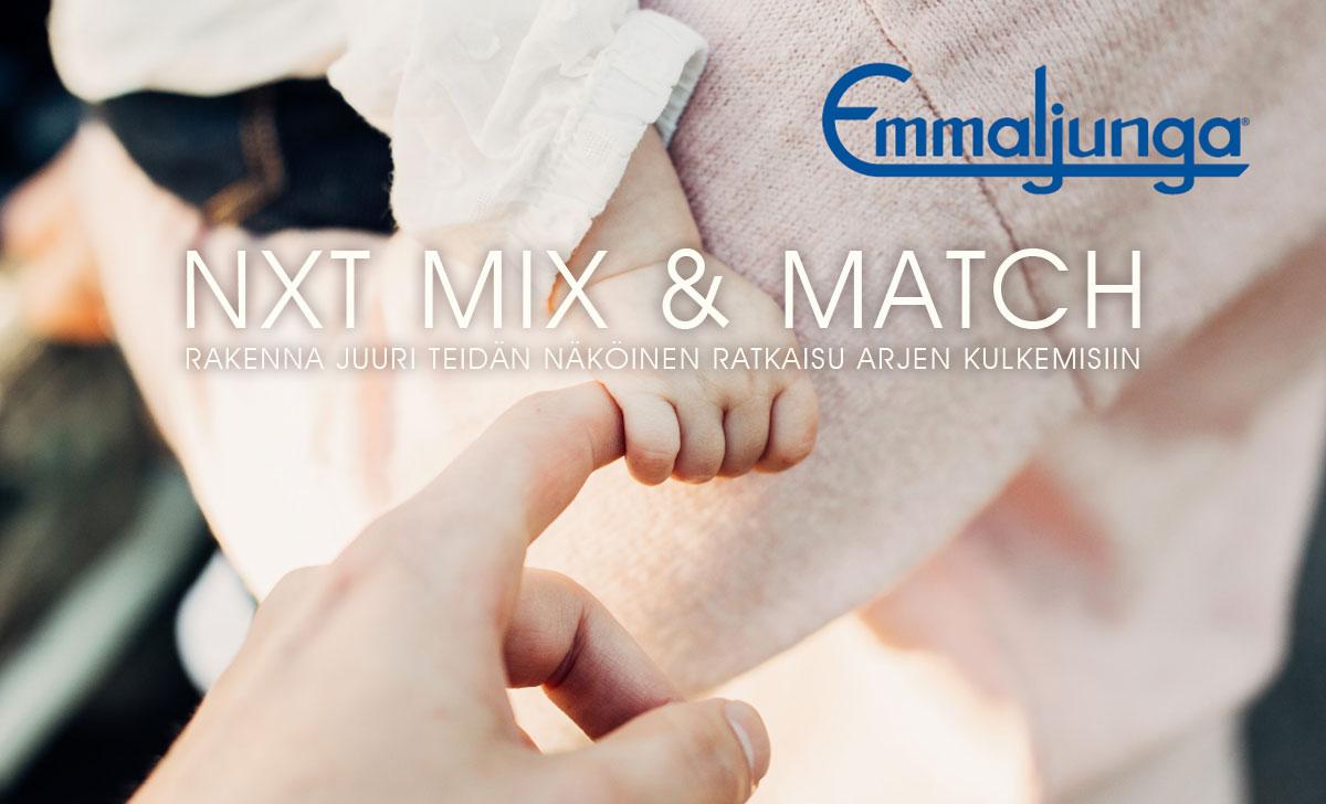 Emmaljunga NXT Mix&Match
