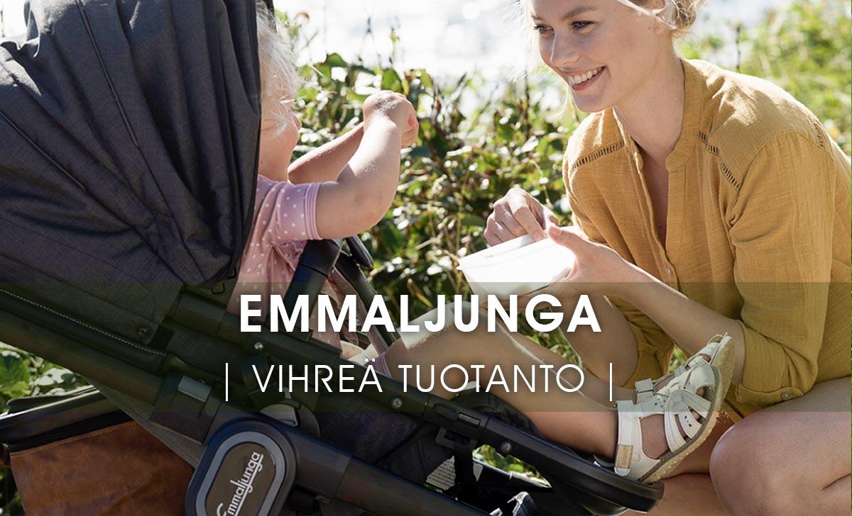 Ruotsissa valmistettavat Emmaljungat pysyvät kehityksen etulinjassa myös vihreissä arvoissa