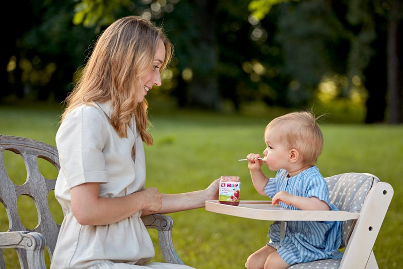 HiPP ottaa huomioon kehittyvän lapsen ravintotarpeet