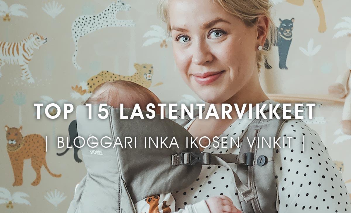 Top 15 lastentarvikkeet by Inka Ikonen
