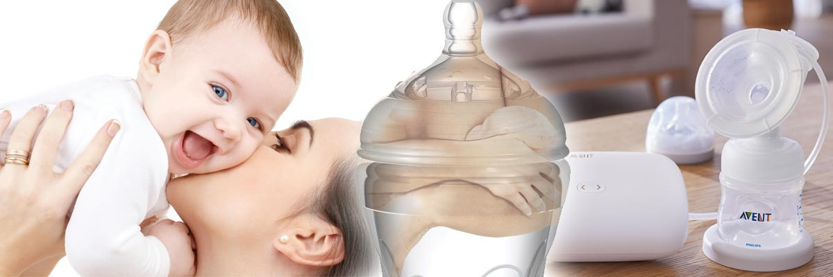 Käytännölliset ja arkea helpottavat rintapumput Lastentarvikkeesta