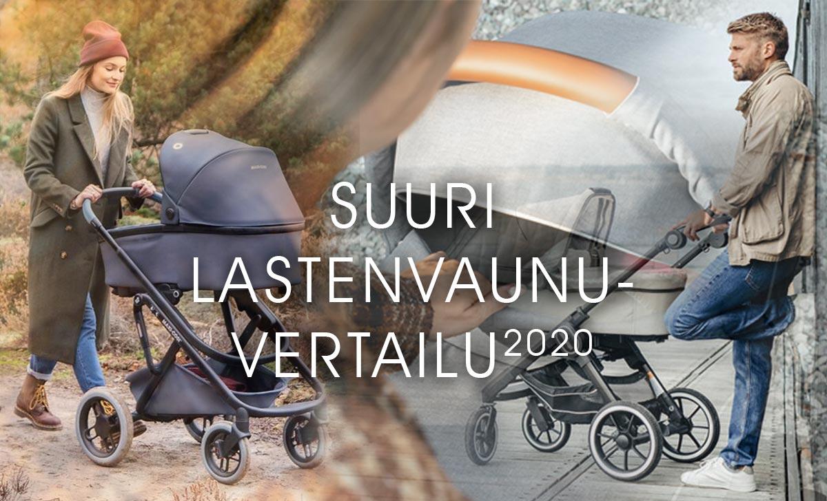 Suuri lastenvaunujen vertailu 2020