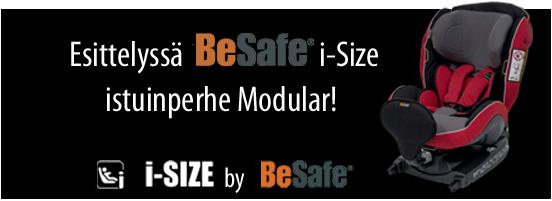 Tutustu tästä Norjalaisen BeSafen uuteen i-Size hyväksyttyyn Modular-turvaistuinperheeseen