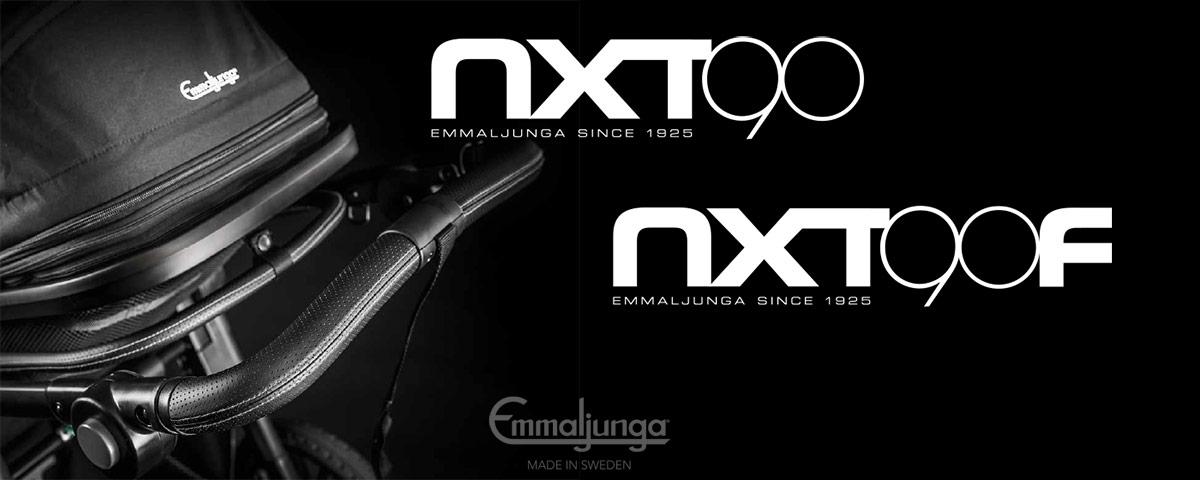 Emmaljunga NXT90 ja NXT90F 2017 esite PDF-muodossa englanniksi.