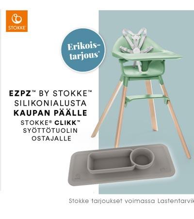 Lastentarvikkeen Stokke Clikk kesätarjous