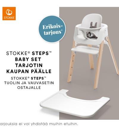 Lastentarvike Stokke Steps kesäkuun tarjous