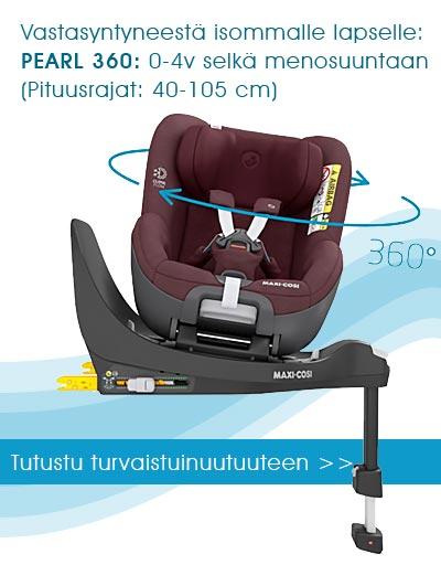 Maxi-Cosi 360 Family tulossa Lastentarvikkeeseen lähiaikoina!