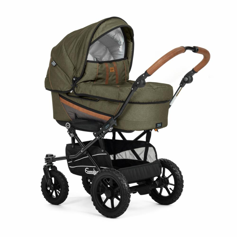 Lastenvaunu Duo Edge, Outdoor Olive