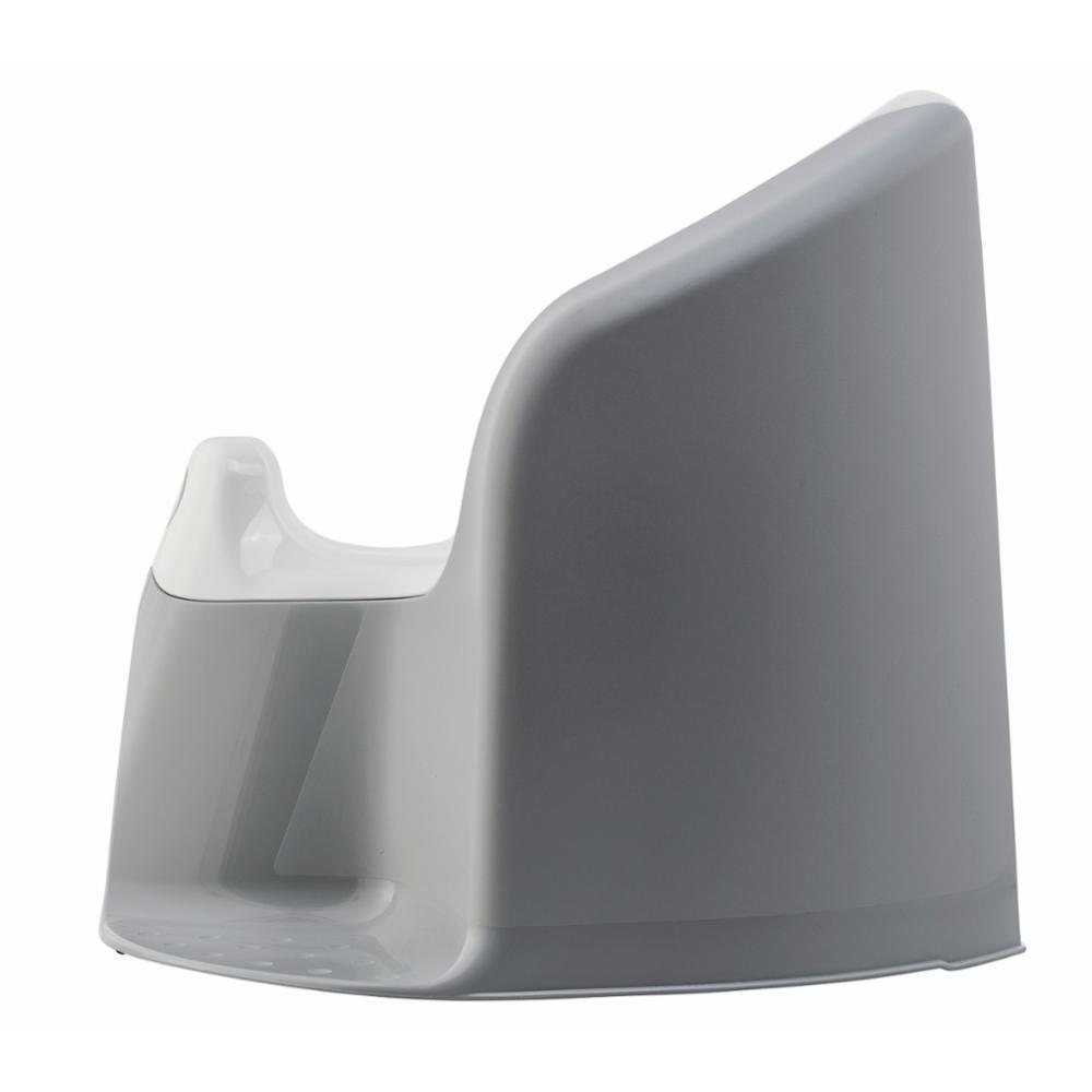 Rotho Xtra Pottatuoli, Stone Grey,White