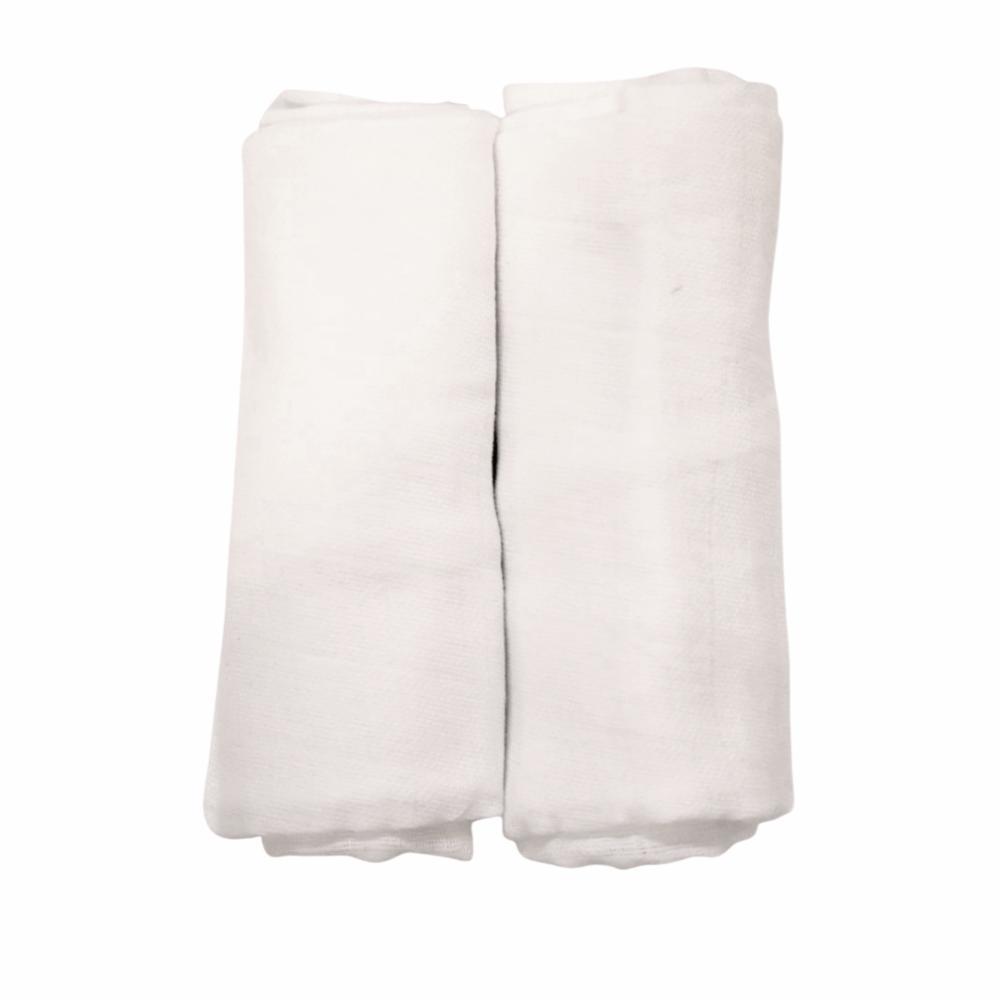 Alvi Puuvillavaippa 80*80 10kpl, white