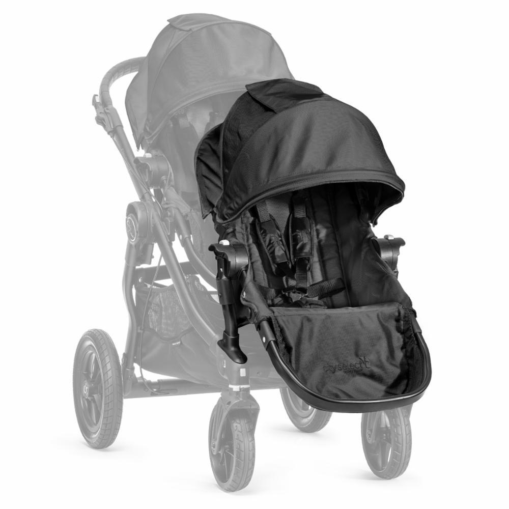 Baby Jogger Select Istuinosa+adapteri, Black
