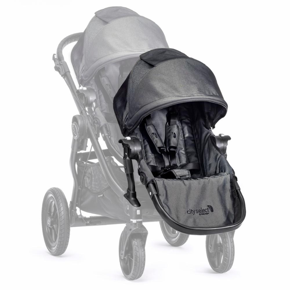 Baby Jogger Select Istuinosa+adap, Charcoal/Denim