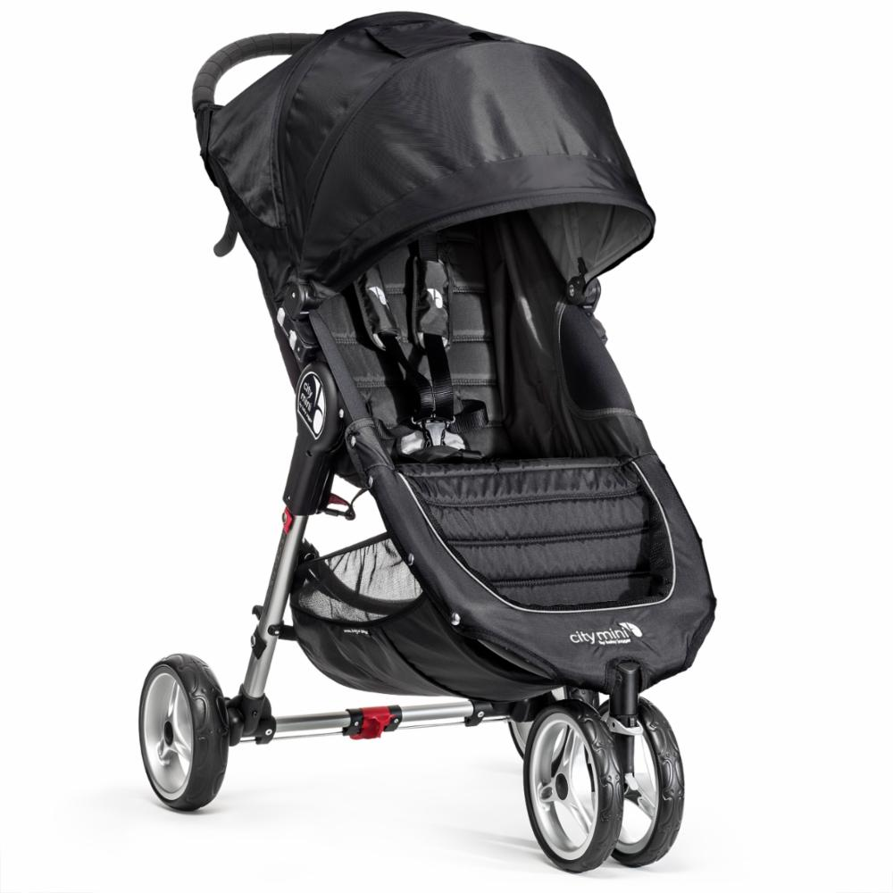 Lastenrattaat Baby Jogger City Mini, Black/Grey