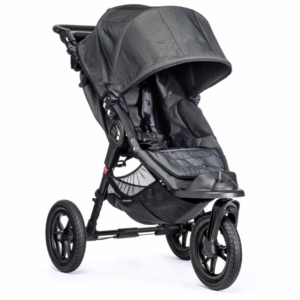 Lastenrattaat Baby Jogger City Elite, Charcoal/Denim