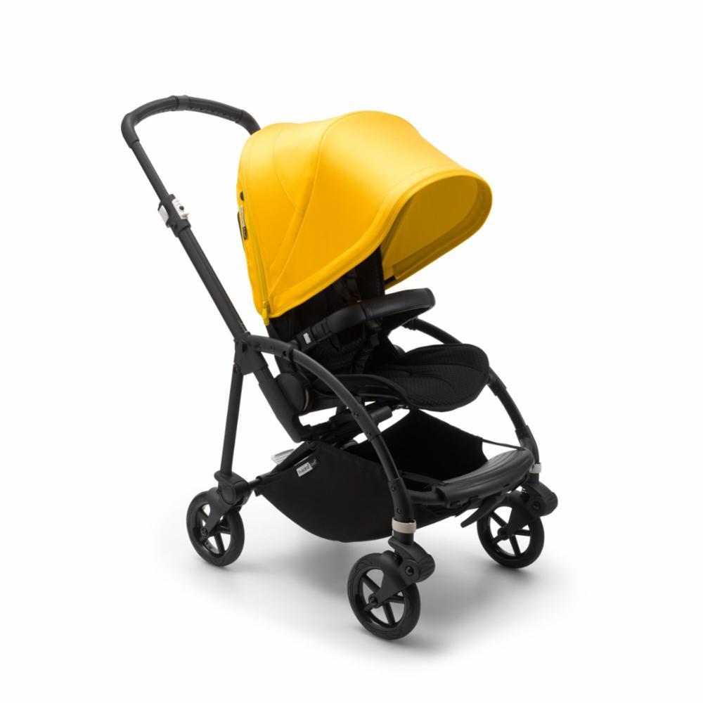 Bugaboo Bee 6 rattaat, Black/Lemon Yellow