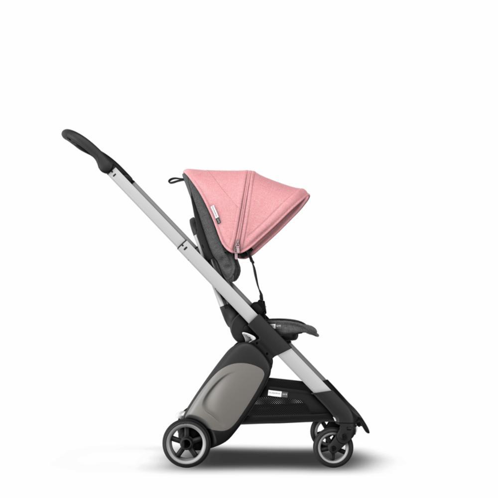 Bugaboo Ant Style Set Kangassetti, Grey Melange/Pink