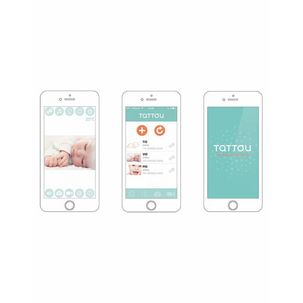 Tattou Tio Itkuhälytin iOS/Android