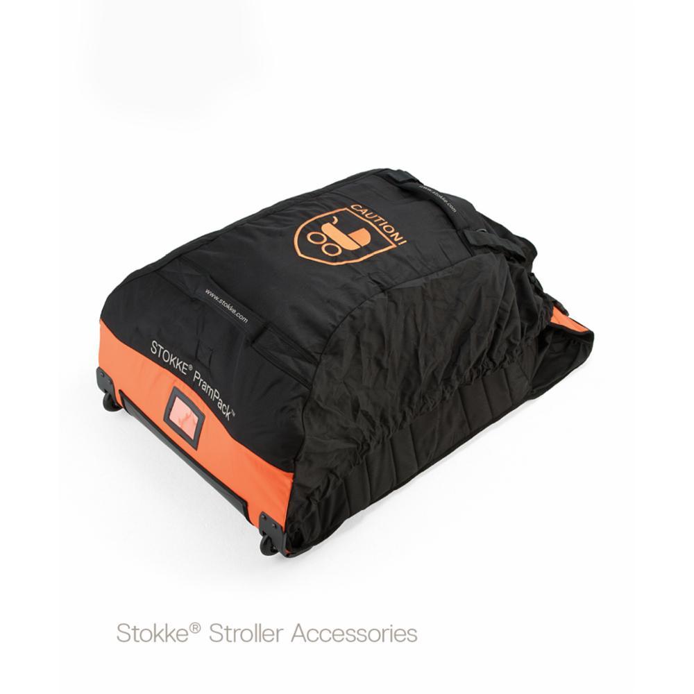 Stokke Prampack, Black/orange