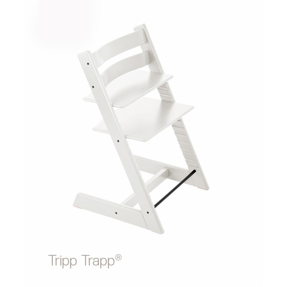 Syöttötuoli Stokke Tripp Trapp, Valkoinen