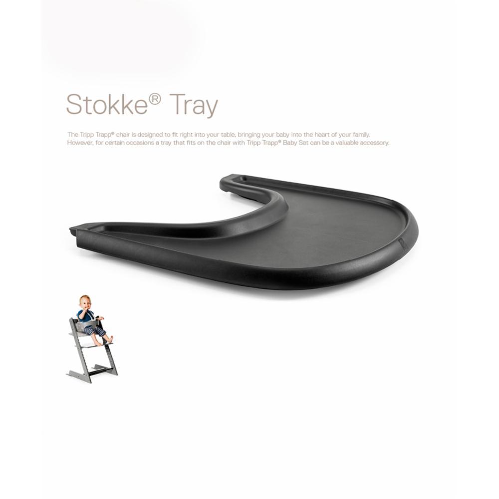 Stokke Tray Tarjotin, black