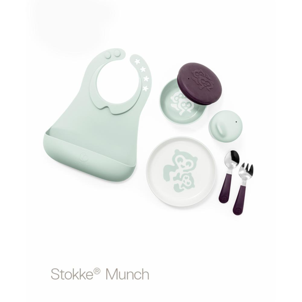 Stokke Munch Ruokailusetti Complete