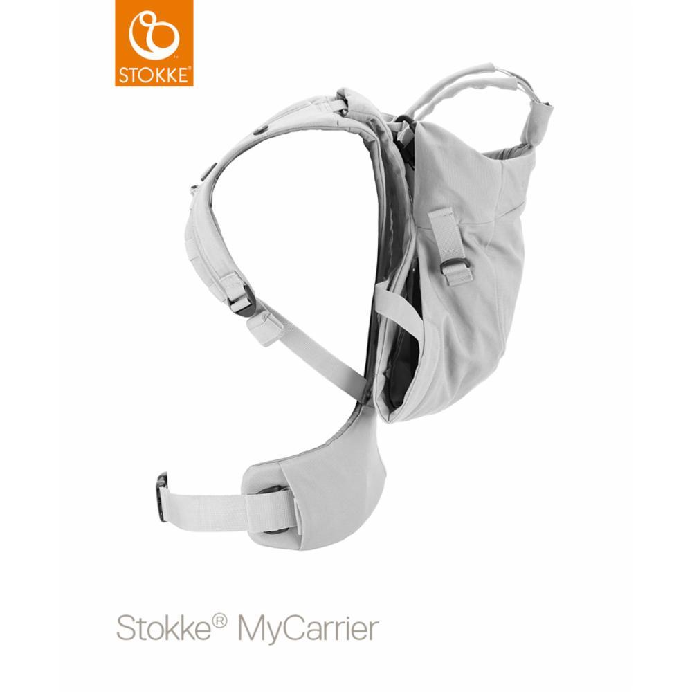 Kantoreppu Stokke MyCarrier Front/back, OCS grey