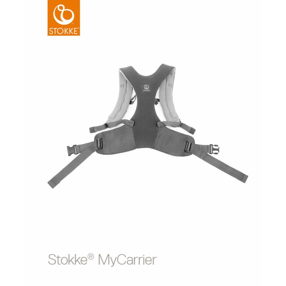 Kantoreppu Stokke MyCarrier Front/back, Grey mesh