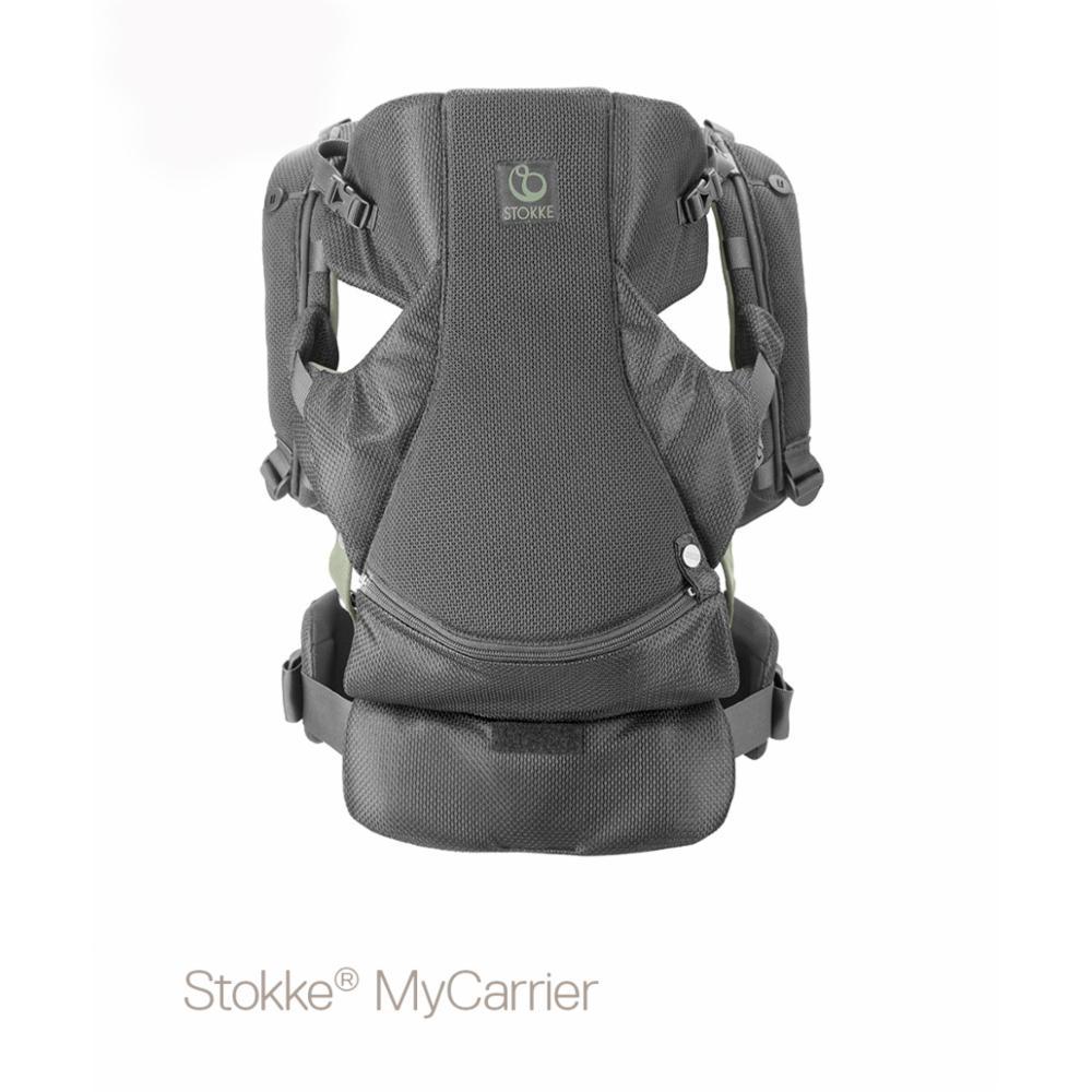 Kantoreppu Stokke MyCarrier Front/back, Green mesh