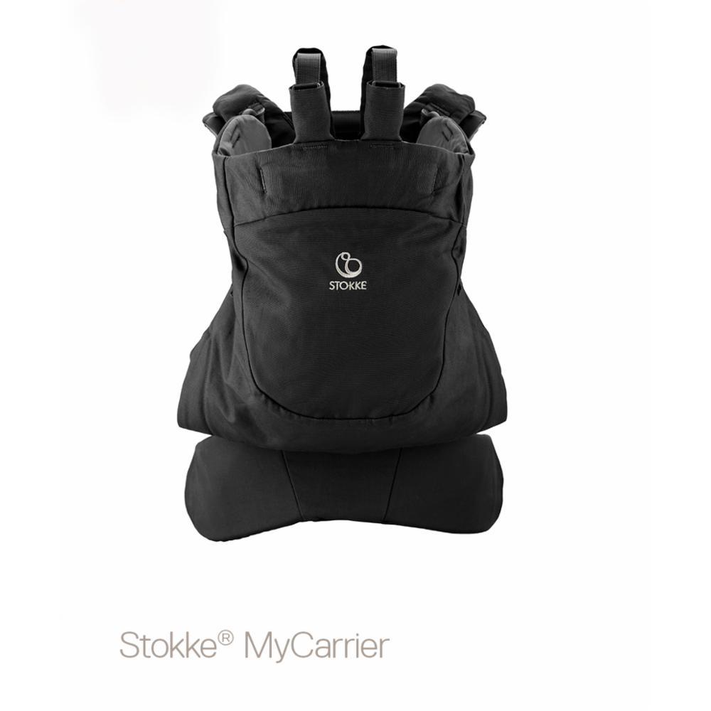 Kantoreppu Stokke MyCarrier Front/back, black ocs