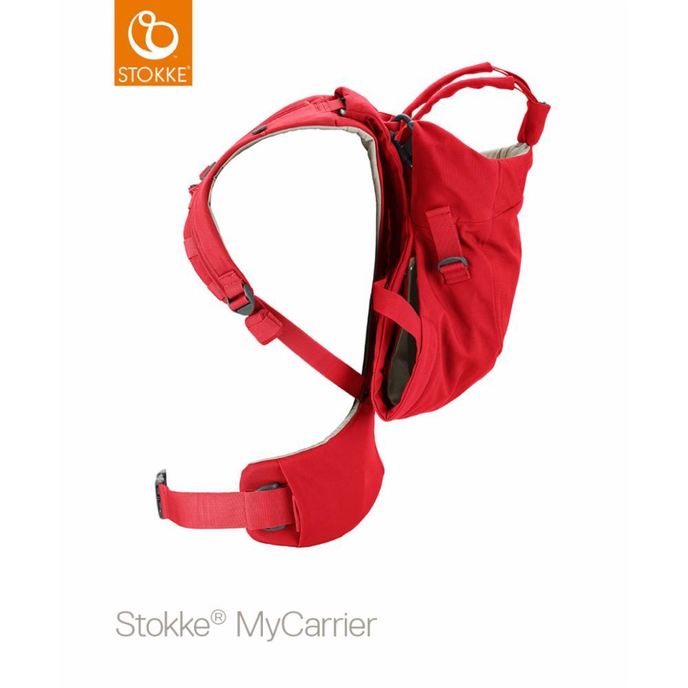 Kantoreppu Stokke MyCarrier Front/back, Red
