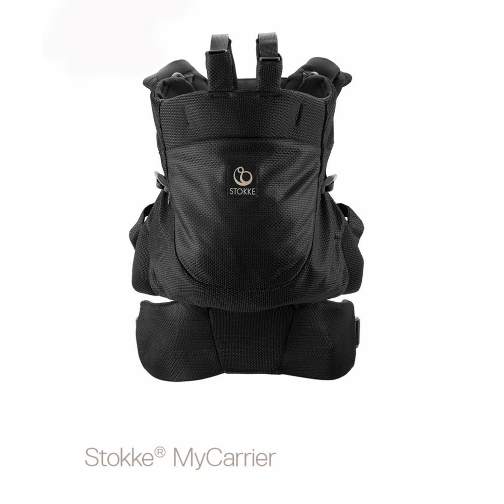 Kantoreppu Stokke MyCarrier Front/back, Mesh black
