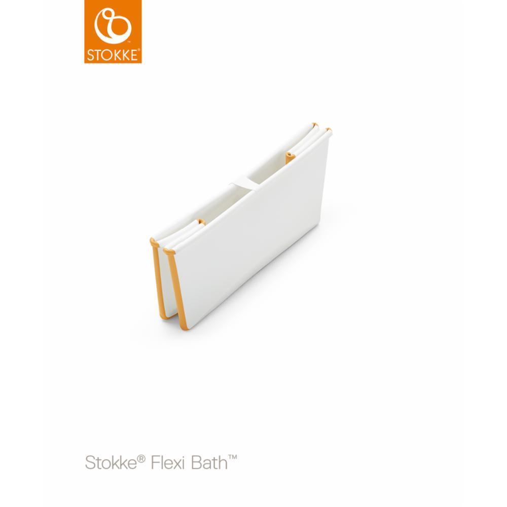 Taittuva amme Stokke Flexi Bath, white yellow
