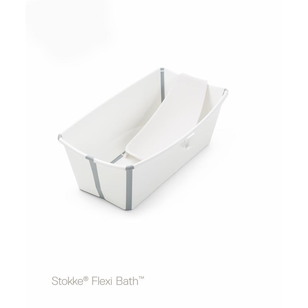 Stokke Flexi Bath Bundle, Valkoinen