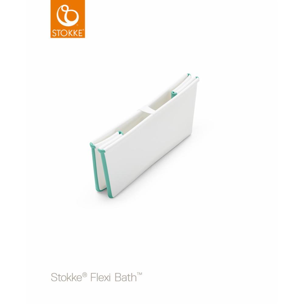 Stokke Flexi Bath Bundle, white aqua